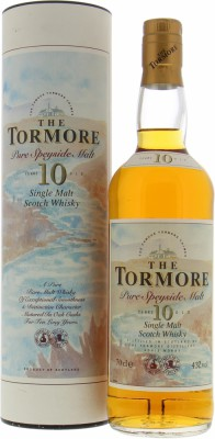 Tormore - 10 Years Old Pure Speyside Malt From the 90's 43% NV