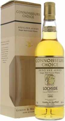 Lochside - 1991 Gordon & MacPhail Connoisseurs Choice 43% 1991