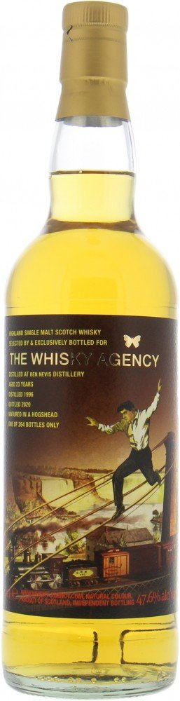 Ben Nevis - 23 Years Old The Whisky Agency 47.6% 1996
