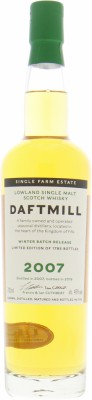Daftmill - 12 Years Old 2007 Winter Batch Release 46% 2007