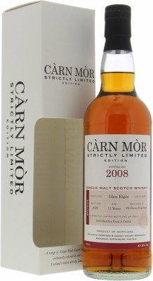 Glen Elgin - 11 Years Old Càrn Mòr Strictly Limited 47.5% 2008