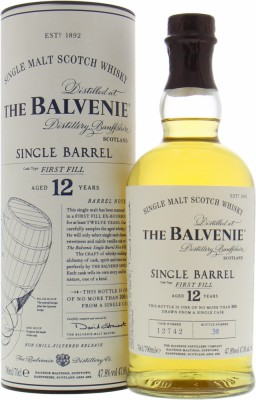 Balvenie - 12 Years Old Single Barrel 12742 47.8% NV