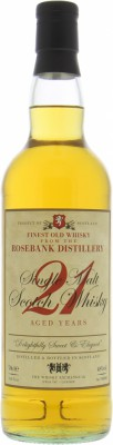 Rosebank - 21 Years Old Retro Label The Whisky Exchange 48% NV