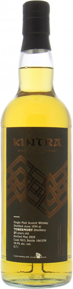 Tobermory - 25 Years Old Kintra Whisky Single Cask Collection Cask 5013 50.9% 1994