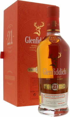 Glenfiddich - 21 Years Caribbean Rum Finish Cask Selection Batch 55 40% NV