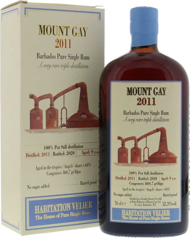 Mount Gay - 9 Years Old Habitation Velier 2011 52.3% 2010