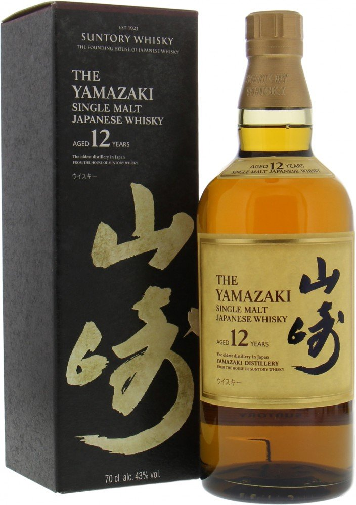Yamazaki - 12 Years Old 2019 version 43% NV