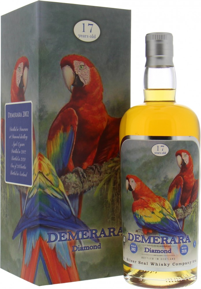 Diamond - 17 Years Old Silver Seal Demerara Cask 92 50.7%  2002