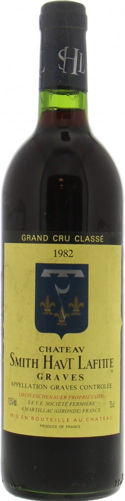 Chateau Smith-Haut-Lafitte Rouge - Chateau Smith-Haut-Lafitte Rouge 1982