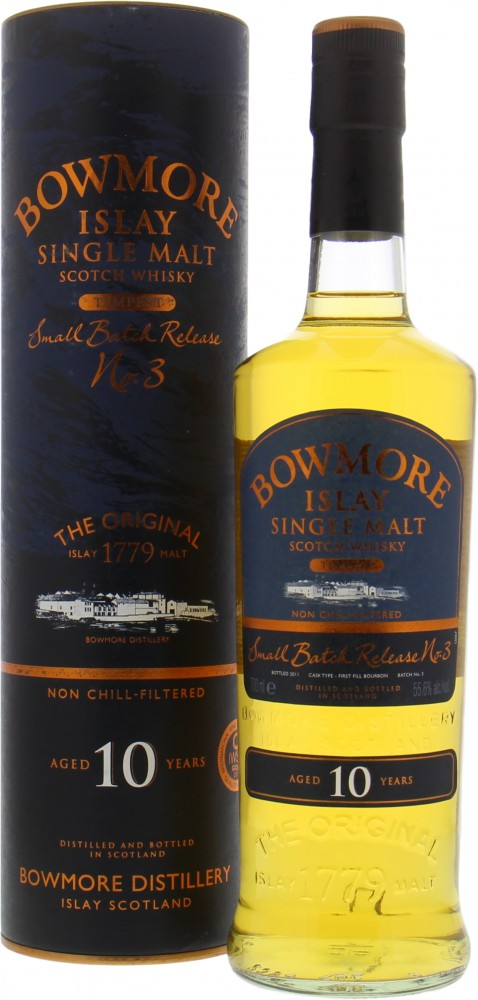 Bowmore - Tempest Small Batch Release No.3 55.6% NV