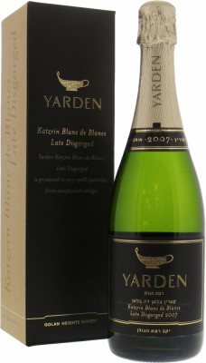Golan Heights Winery  - Yarden Katzrin Blanc de Blancs late disgorged 2007