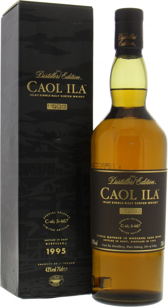 Caol Ila - 12 Years Old Distillers Edition 1995 43% 1995