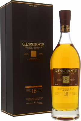 Glenmorangie - 18 Years Old Extremely Rare New Label 43% NV