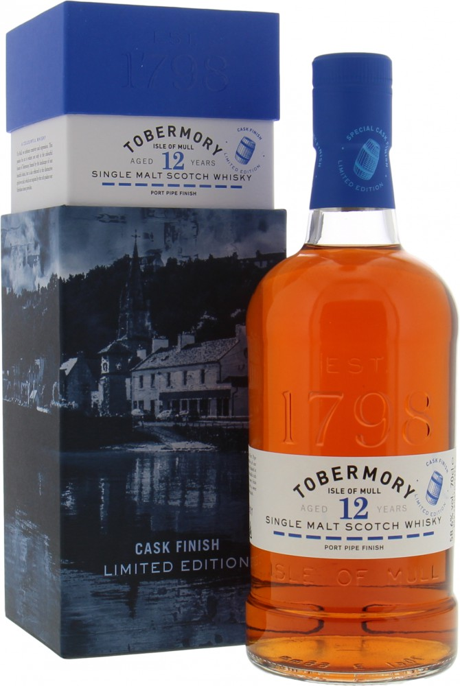 Tobermory - 12 Years Old Cask Finish Limited Edition 58.6% 2007