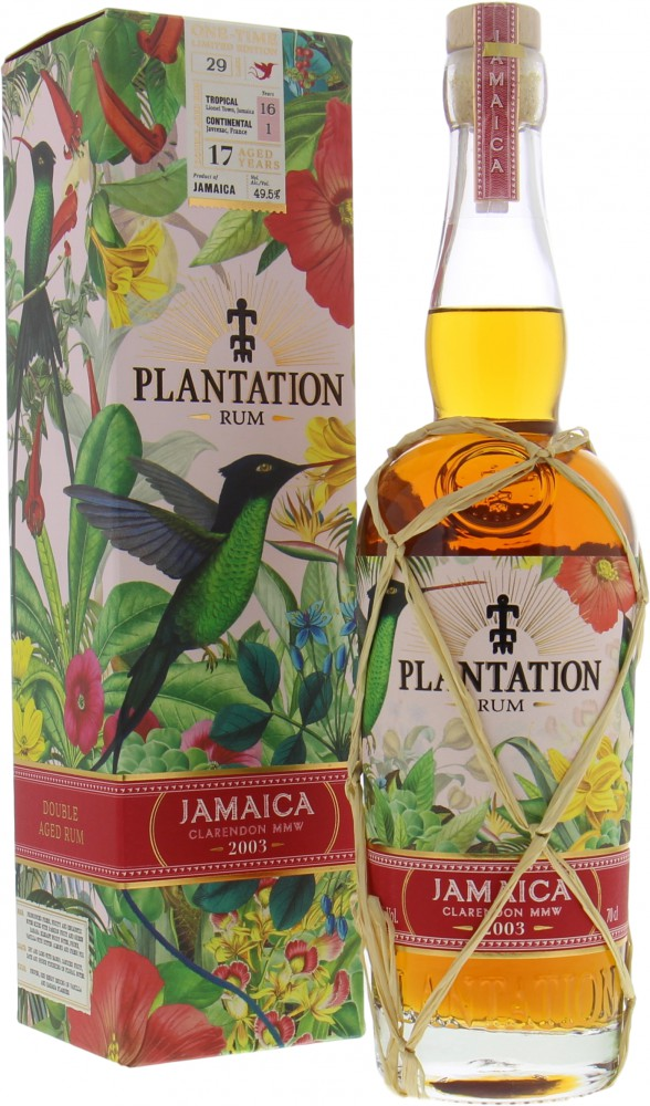 Plantation Rum 17 Years Old Jamaica Clarendon MMW One-Time ...