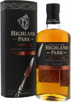 Highland Park - Ingvar Cask Strength Travel Retail Special Edition 60.5% NV