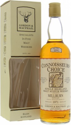 Millburn - 1971 Connoisseurs Choice 40% 1971