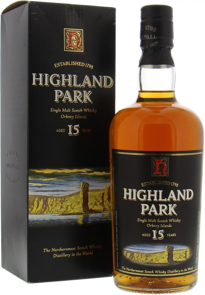 Highland Park - 15 Years Old Man of Hoy Picture 40% NV