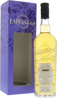 Glenallachie - 13 Years Old Lady of the Glen Cask 901062 65.1% 2005