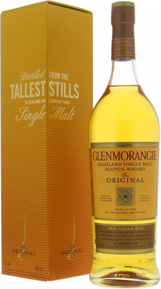 Glenmorangie - The Original 10 Years Distilled from the Tallest Stills 40% NV
