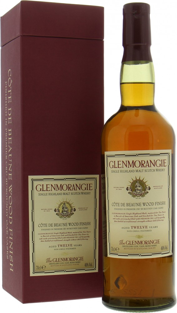 Glenmorangie - Côte de Beaune 12 Years Old 46% NV