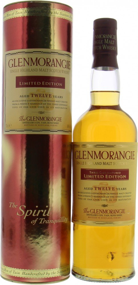 Glenmorangie - Three Cask Matured 12 Years Old Exclusive to Sainsbury's 40% NV