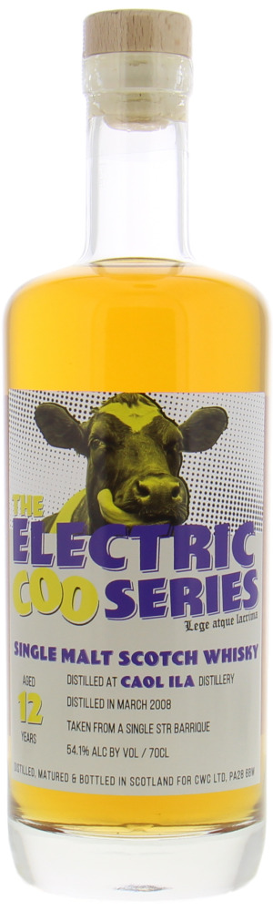 Caol Ila - 12 Years Old Campbeltown Whisky Company The Electric Coo Series 54.1% 2008