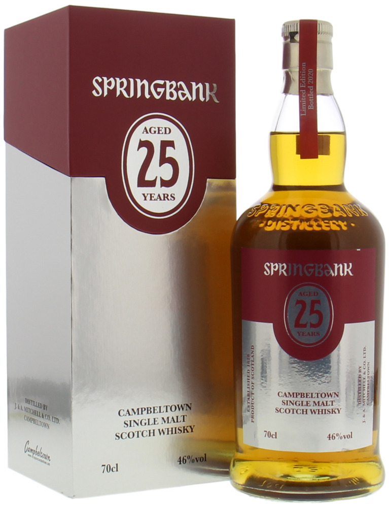 Springbank - 25 Years Old 2020 Edition 46% NV