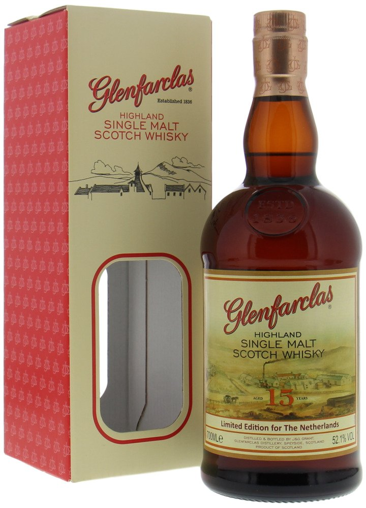 Glenfarclas - 15 Years Old Limited Edition for The Netherlands 52.1% NV