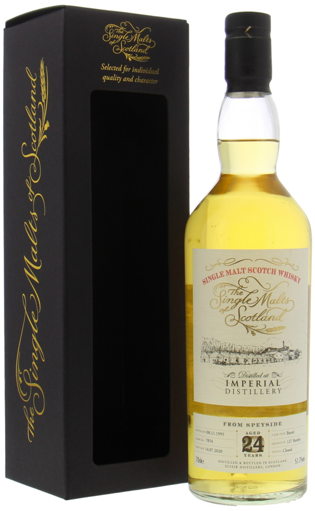 Imperial - 24 Years Old The Single Malts of Scotland Cask 7854 51.7% 1995