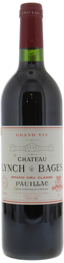 Chateau Lynch Bages - Chateau Lynch Bages 2003