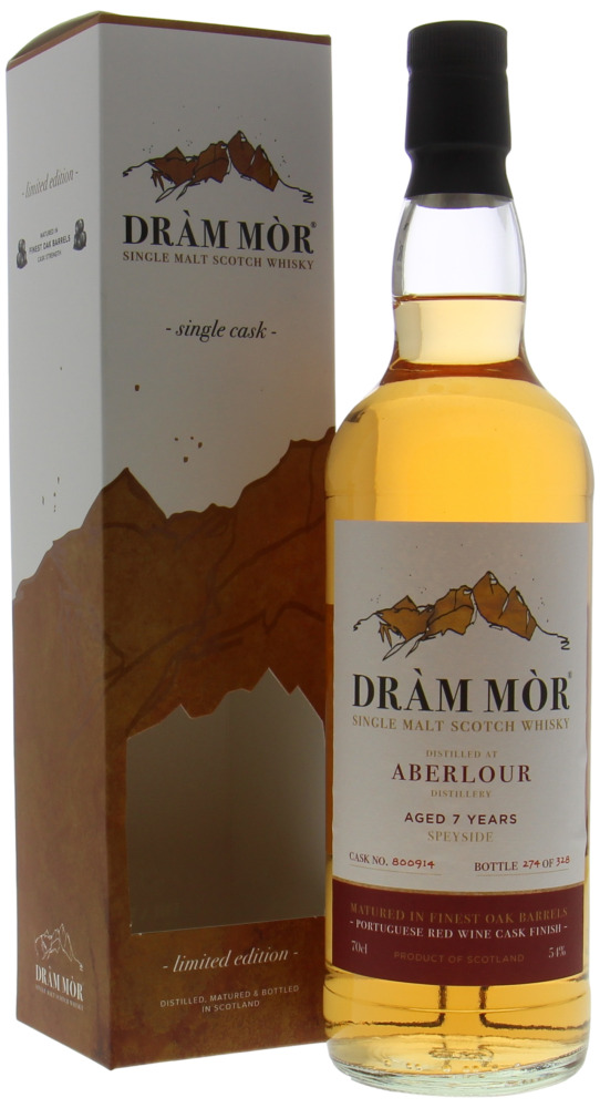 Aberlour - 7 Years Old Dràm Mòr Cask 800914 54% NV