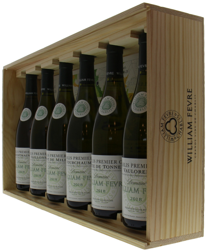 Fevre, William - Mixed Case Premier Cru 6 bottles 2018