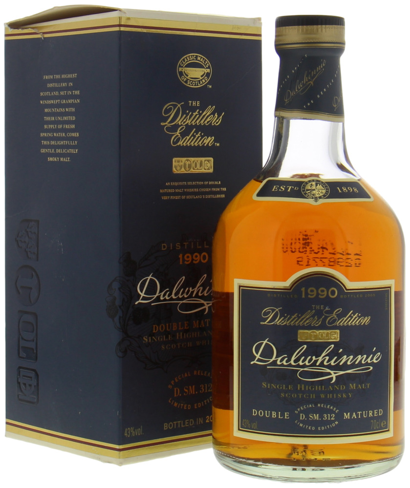 Dalwhinnie - 1989 The Distillers Edition 43%  1989