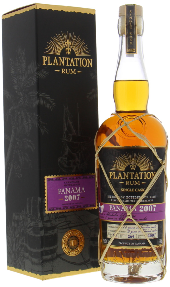 Plantation Rum - 13 Years Old Panama Cask 7 46% 2007