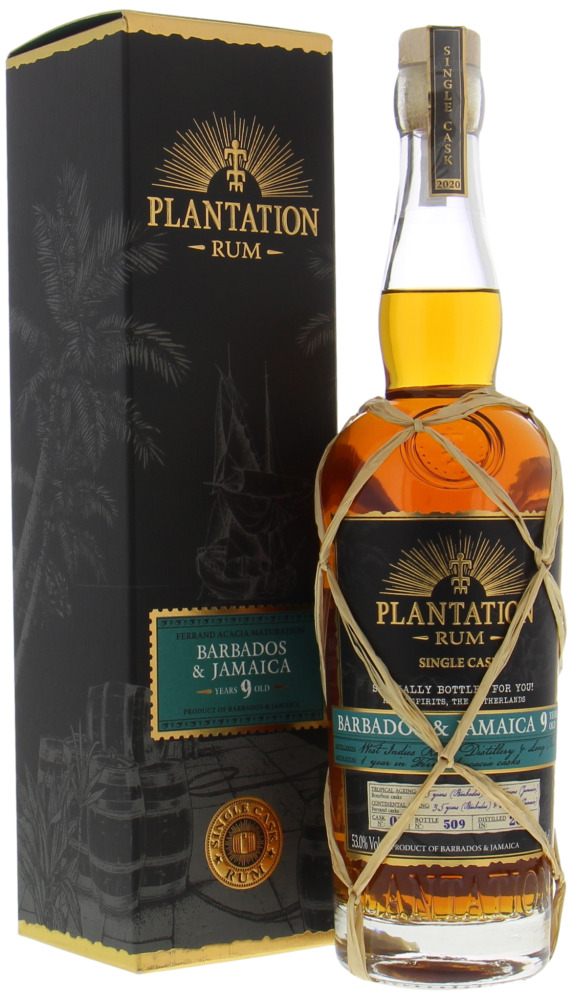 Plantation Rum - 9 Years Old Barbados & Jamaica Cask 1 53% 2011