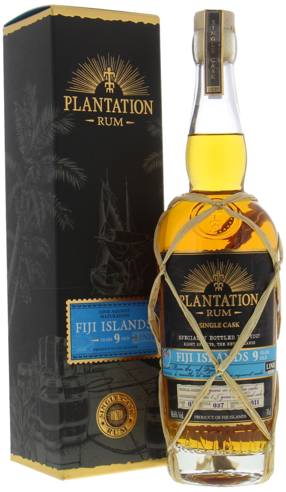 Plantation Rum - 9 Years Old Fiji Linie Aquavit Cask 5 48.6% 2011