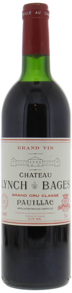 Chateau Lynch Bages - Chateau Lynch Bages 1985