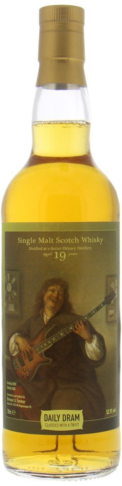 Highland Park - 19 Years Old Secret Orkney the Daily Dram Classics With A Twist 52.9% 1999
