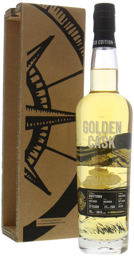 Dufftown - 12 Years Old Golden Cask Reserve Cask CM262 58.8% 2008