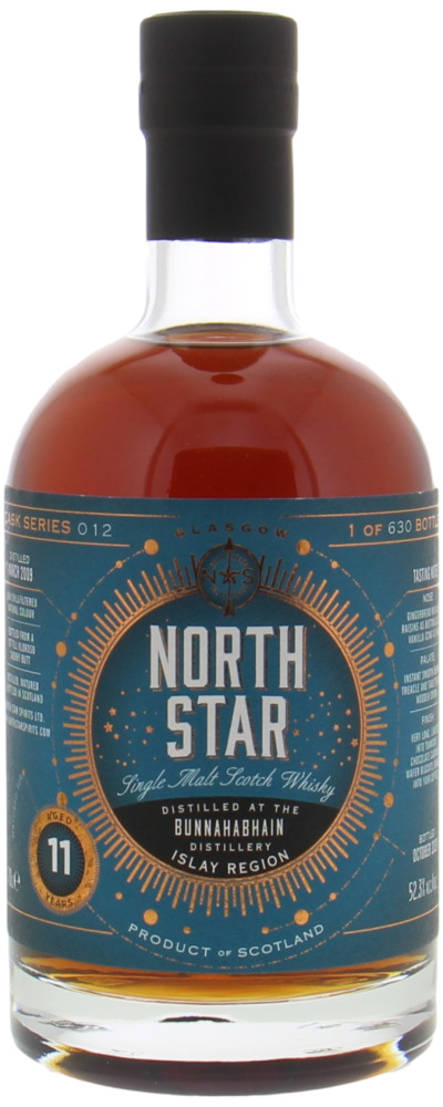 Bunnahabhain - 11 Years Old North Star Spirits Cask Series 012 52.3% 2009