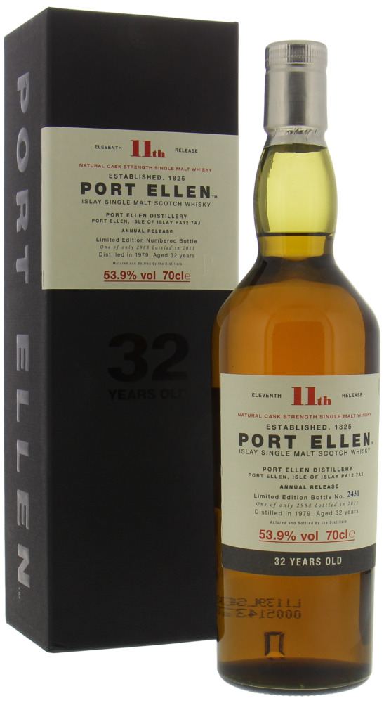 Port Ellen - 11th Release 32 Years Old 53.9% 1979