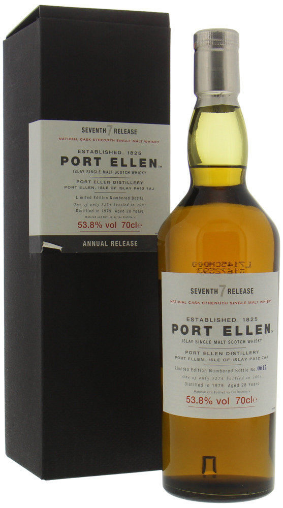 Port Ellen - 7th Annual Release 28 Years Old 53.8% 1979