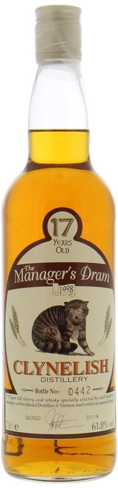 Clynelish - 17 Years Old The Manager's Dram 61,8% NV