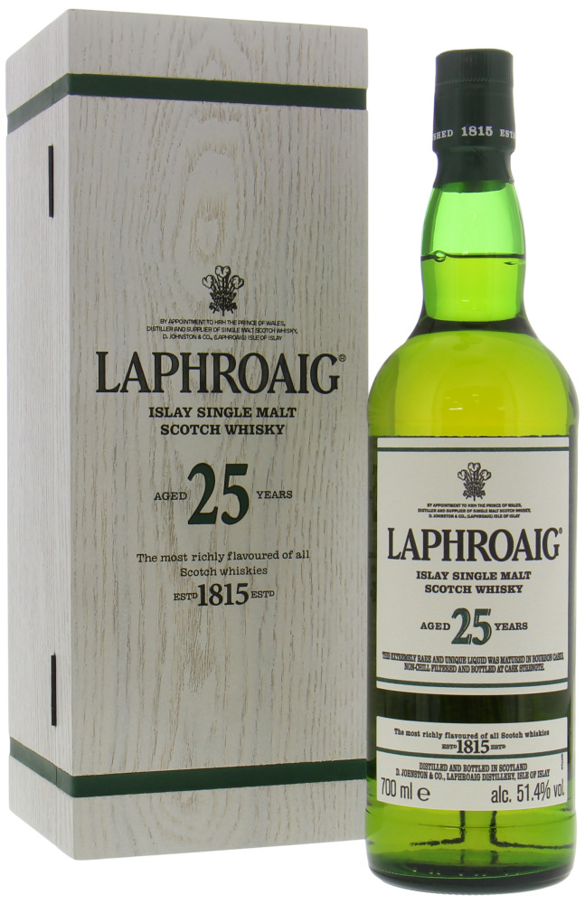 Laphroaig - 25 Years Old Cask Strength Edition 2019 51.4% NV