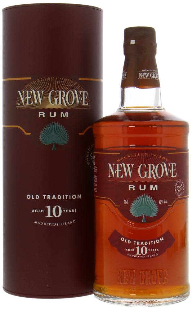 New Grove Distillery - 10 Years Old Tradition 40% NV
