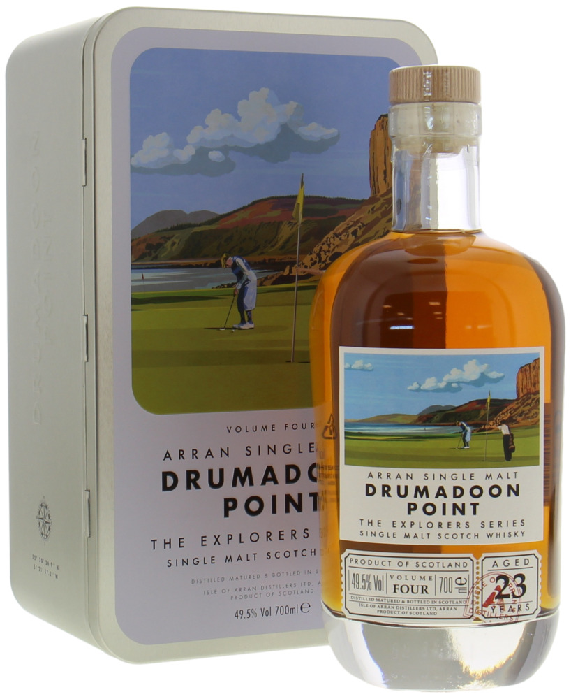 Arran - The Explorers Series Drumadoon Point 23 Years Old 49.5% NV