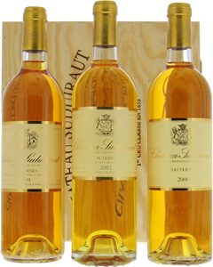 Chateau Suduiraut - The terroir - 1999, 2002, 2006 NV