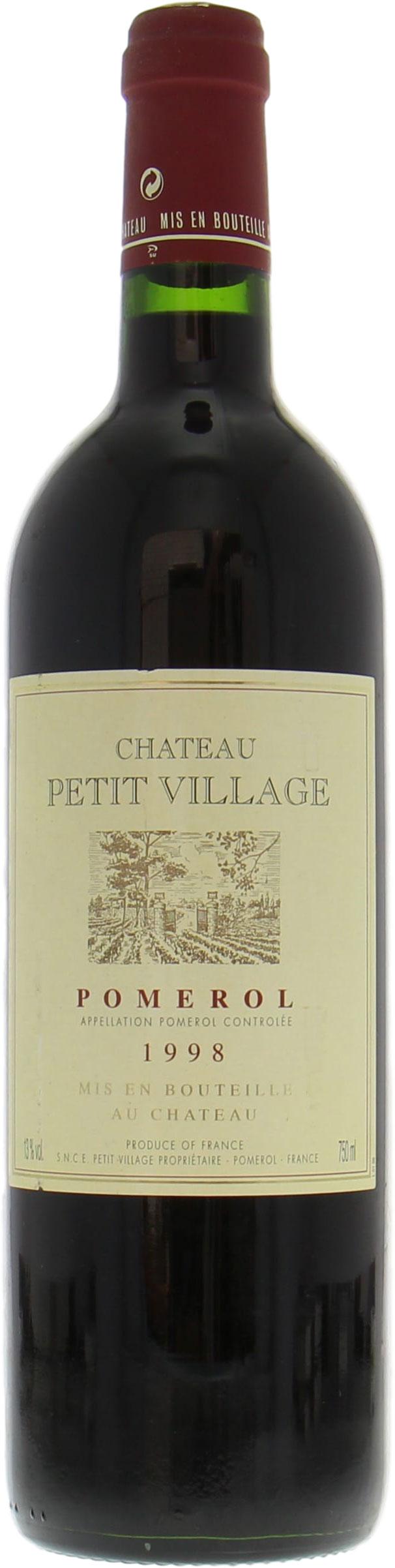 best of wines chateau petit village 1998. Black Bedroom Furniture Sets. Home Design Ideas