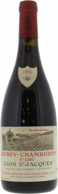 Armand Rousseau - Gevrey Chambertin Clos St Jacques 1996